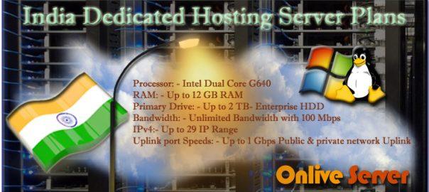 Affordable India Dedicated Server