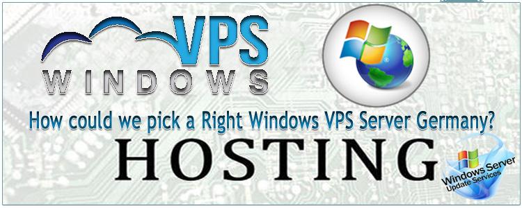 Windows VPS Server Germany