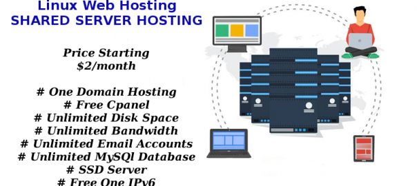 Linux based shared server Hosting plans onlive server