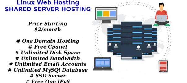 Shared Web Hosting - Linux Website Hosting Just $ 2/Per Month
