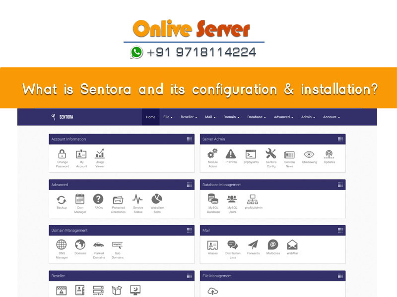 What is Sentora – How to Install Sentora Web CPanel – Onlive Server