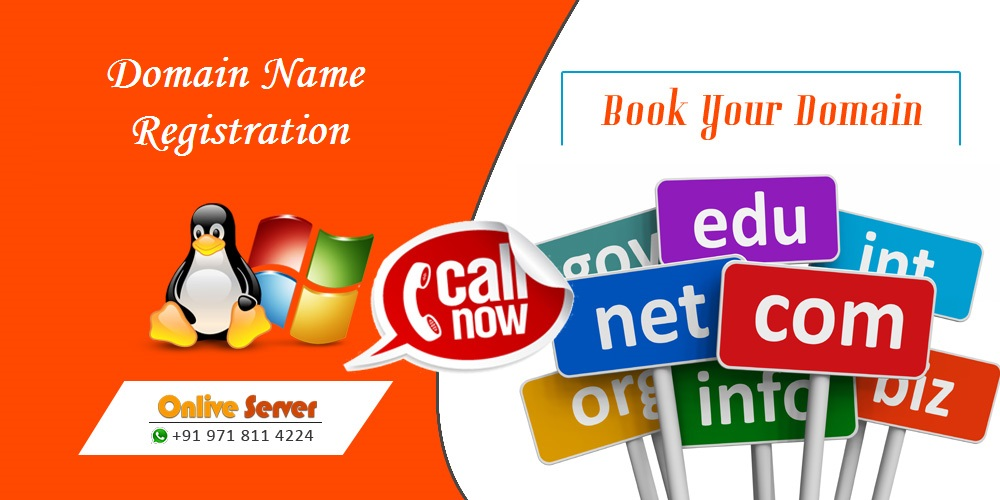 Book Your Domain Name Registration