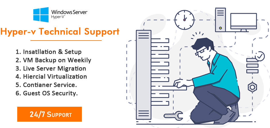 professional installation service provider of Hyper-V management systems